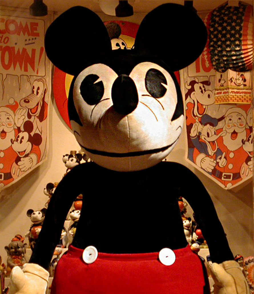 The Big Mickey Doll The Mel Birnkrant Collection