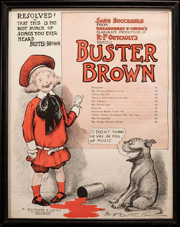 BUSTER BROWN The Mel Birnkrant Collection