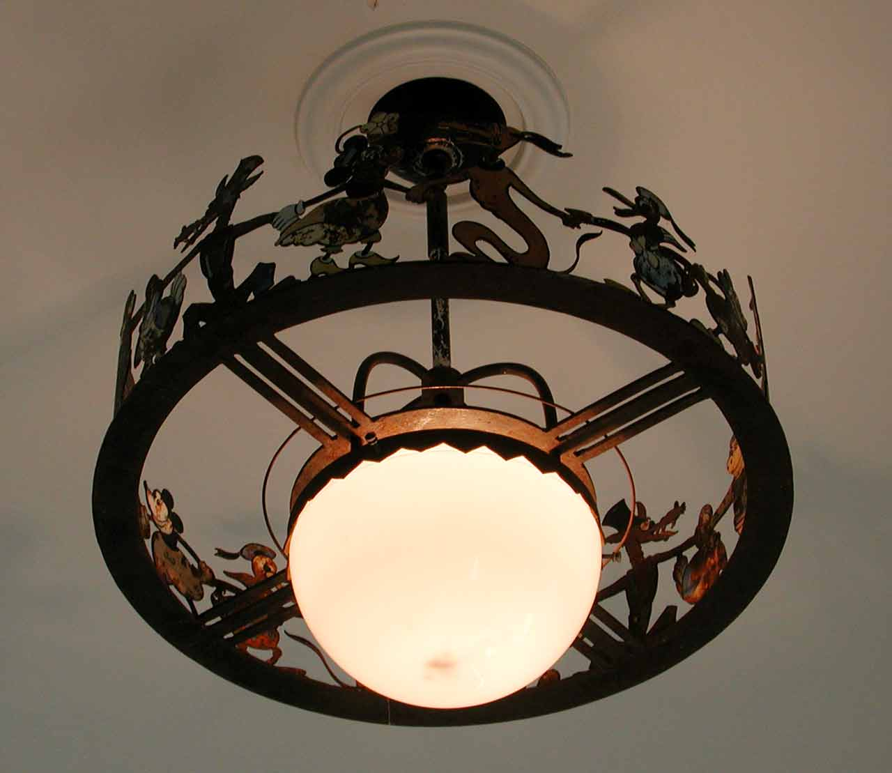 Mickey Mouse Ceiling Light Fixture