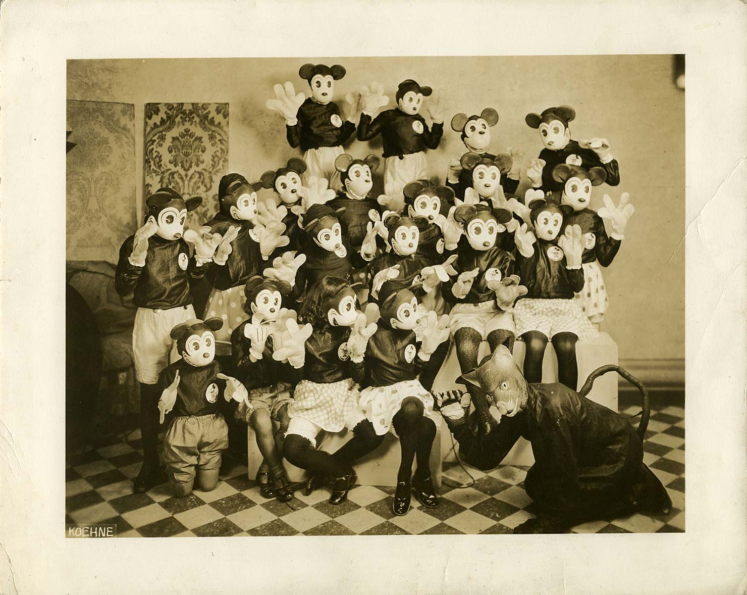 Mickey Masks The Mel Birnkrant Collection
